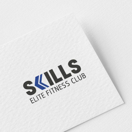 Σχεδιασμός Λογοτύπου για το Γυμναστήριο Skills στη Λάρισα.